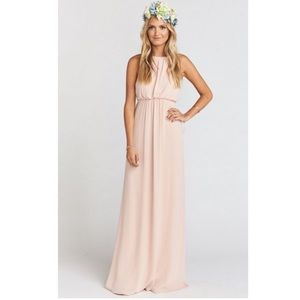 Show me your Mumu Amanda backless Maxi Dress B37